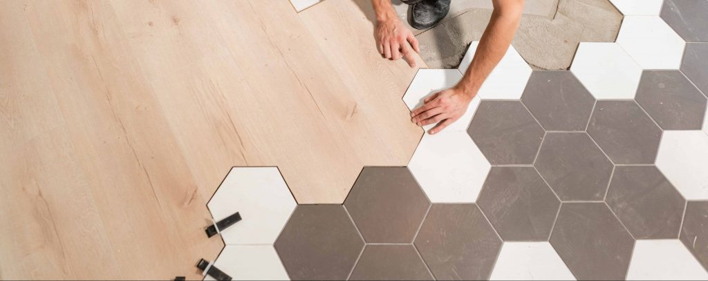 transitional flooring